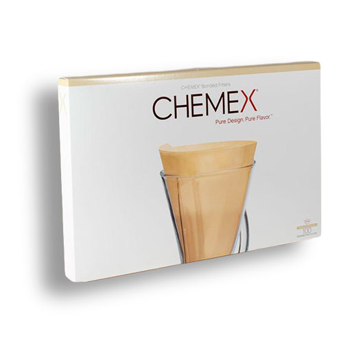 Chemex 3 Cups Paper Filters 100 Mokha Bunn Canada
