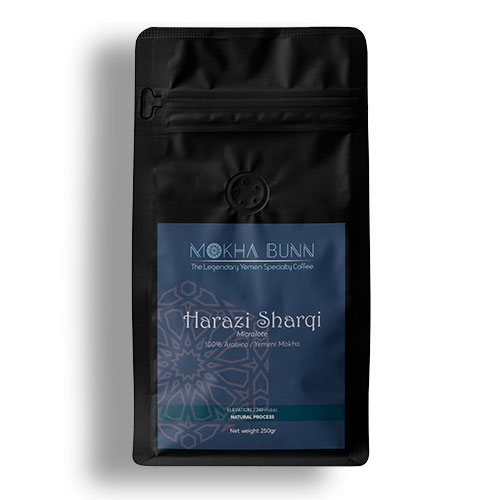 Harazi Sharqi Yemen Specialty Coffee Mokha Bunn Canada