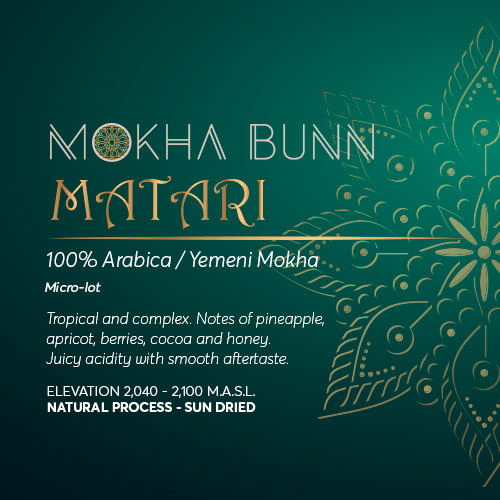 Matari Yemen Specialty Coffee Mokha Bunn Canada