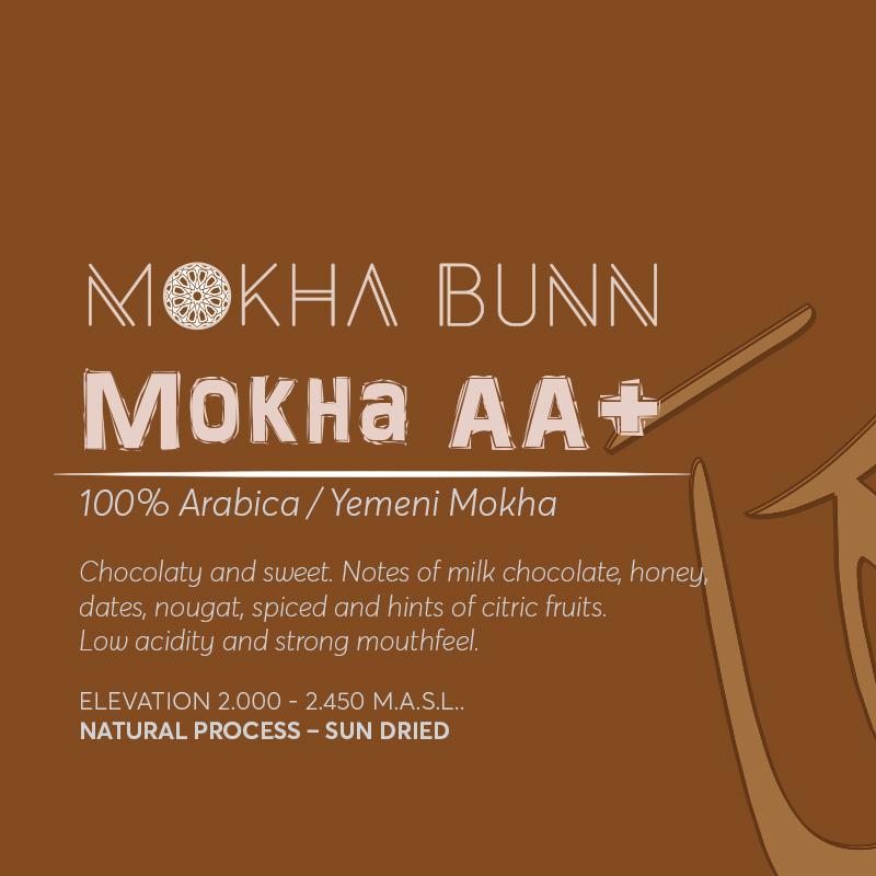 Mokha AA+ Yemen Specialty Coffee Mokha Bunn Canada