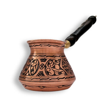 ibrik cezve engraved handmade copper arabic turkish coffee pot Canada