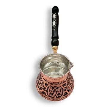 ibrik cezve engraved handmade copper Arabic Turkish coffee pot Canada Mokha Bunn Greek